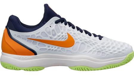Pánská tenisová obuv Nike Zoom Cage 3 Clay White Orange Peel - náhled 0776cf4e44